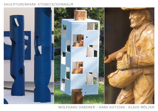 Ausstellung Skulpturenpark Stubeck